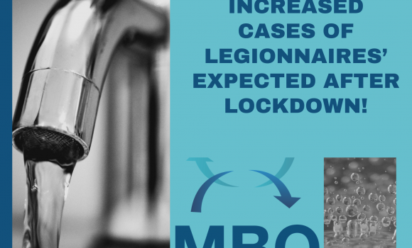What is Legionnaires' disease I hear you ask? Increased cases expected after Lockdown!