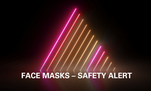KN95 Face Mask Safety Alert